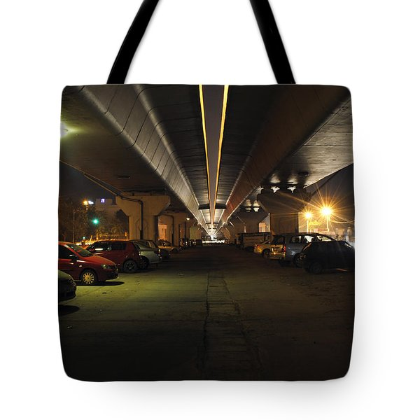 Under The Flyover  Tote Bag by Sumit Mehndiratta