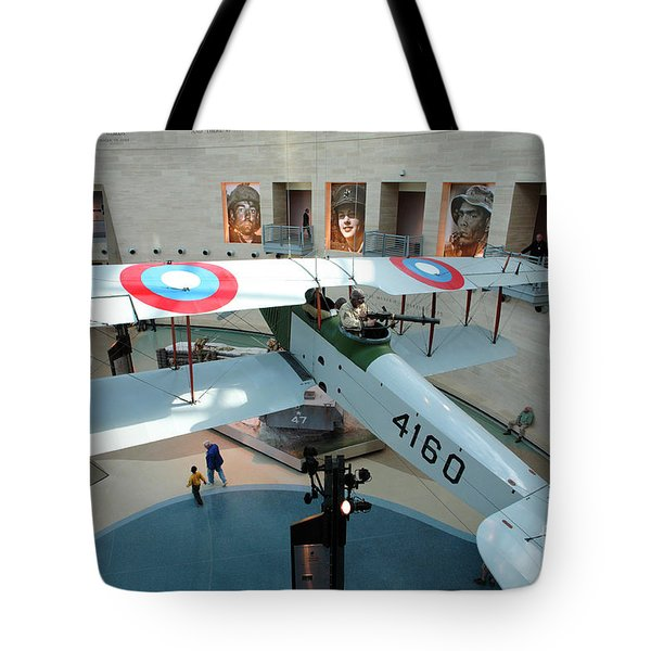 Under The Jenny At The Marine Corps Museum Tote Bag