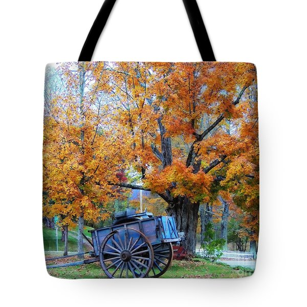 Under The Maple Tree Tote Bag
