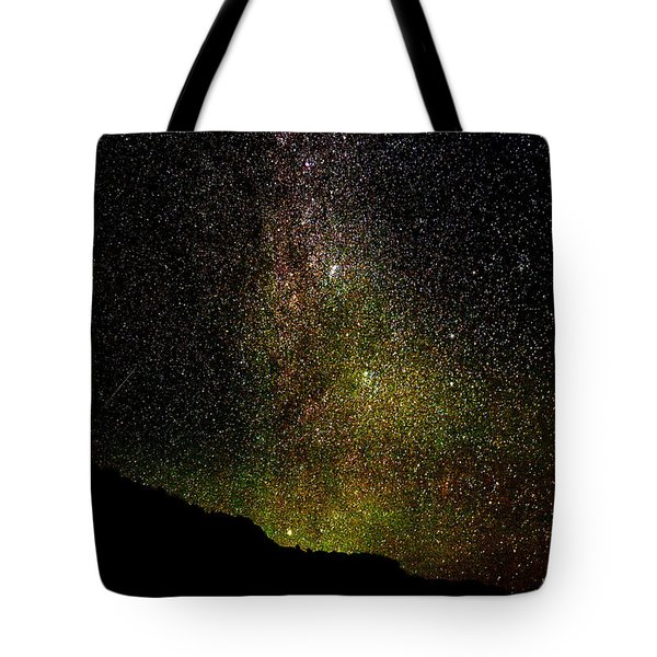 Tote Bag featuring the photograph Under The Milky Way by Greg Norrell