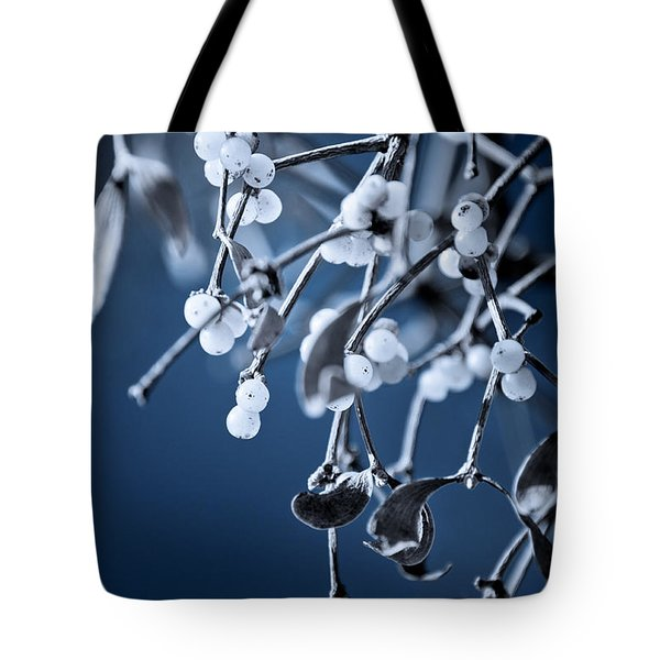 Under The Mistletoe Tote Bag by Loriental Photography