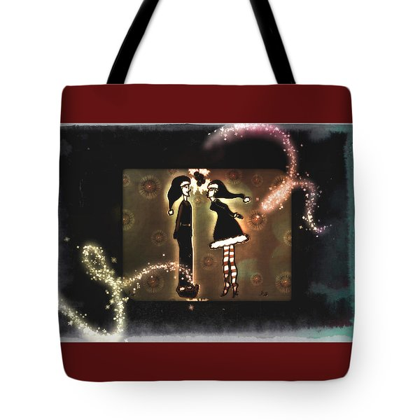 Under The Mistletoe Tote Bag