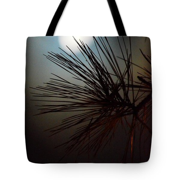 Under The Moon II Tote Bag by Maria Urso