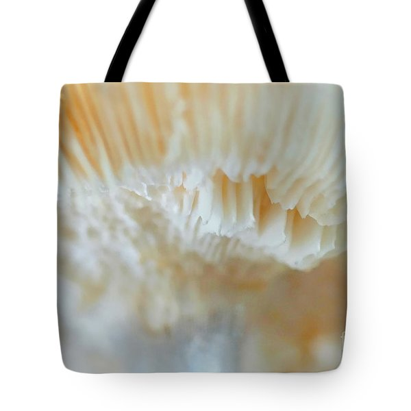 Tote Bag featuring the photograph Under The Mushroom by Rudi Prott