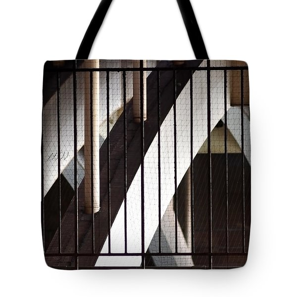 Tote Bag featuring the photograph Under The Overground by Rona Black