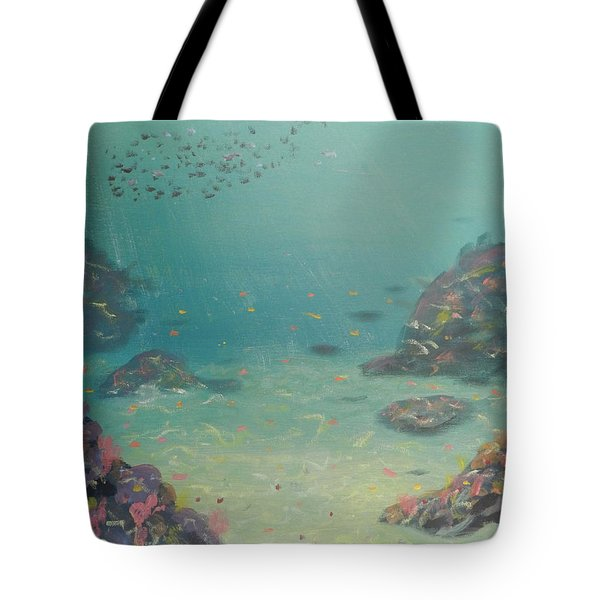 Under The Sea Tote Bag by Pamela  Meredith