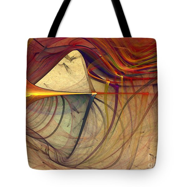 Under The Skin-abstract Art Tote Bag