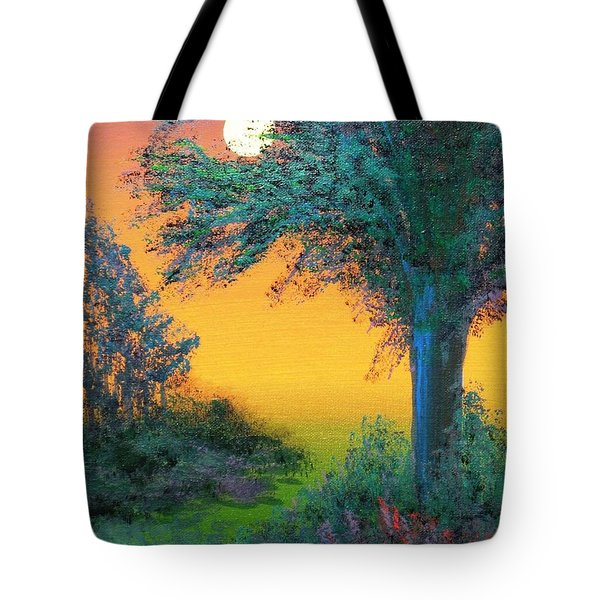 Under The Solstice Moon Tote Bag by Alys Caviness-Gober