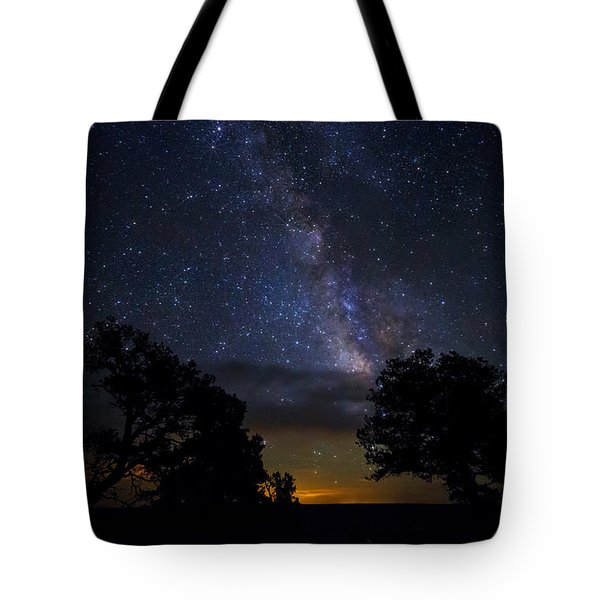 Under The Stars At The Grand Canyon  Tote Bag