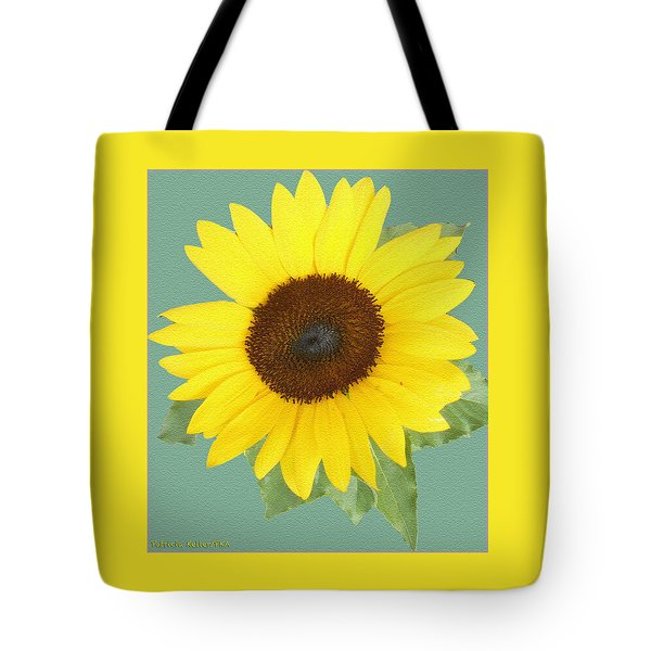 Under The Sunflower's Spell Tote Bag by Patricia Keller