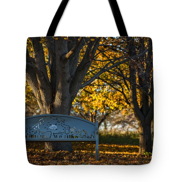 Under The Tree Tote Bag by Sebastian Musial
