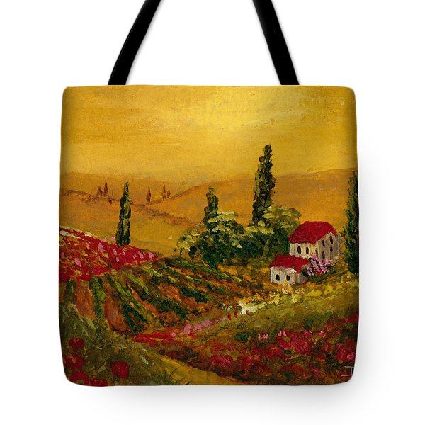 Under The Tuscan Sun Tote Bag by Darice Machel McGuire