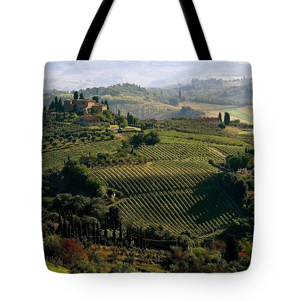 Under The Tuscan Sun Tote Bag