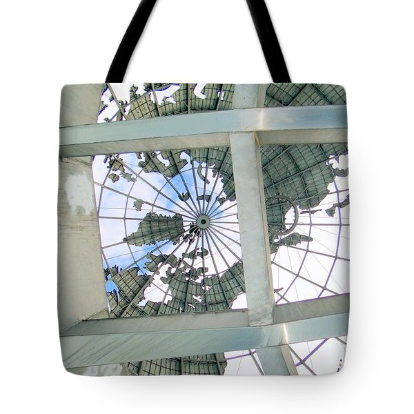 Under The Unisphere Tote Bag by Ed Weidman