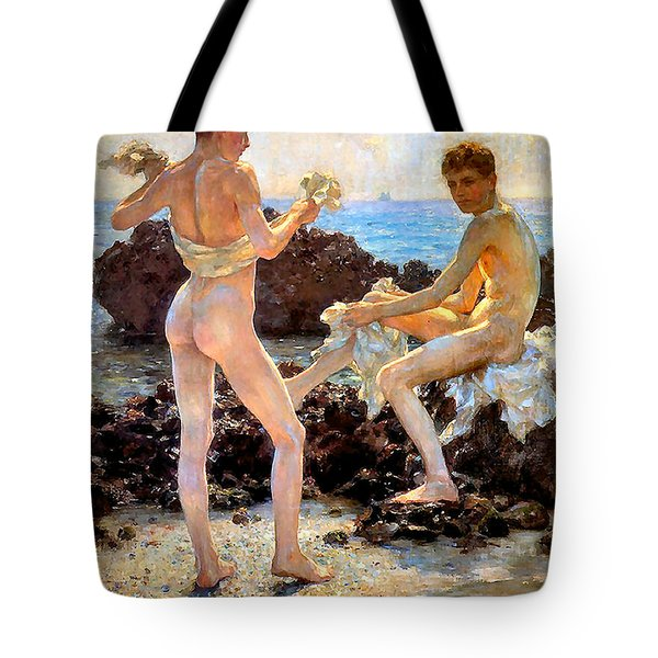 Under The Western Sun Tote Bag