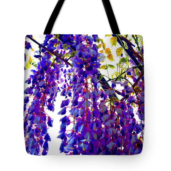 Under The Wisteria Tote Bag by Alys Caviness-Gober