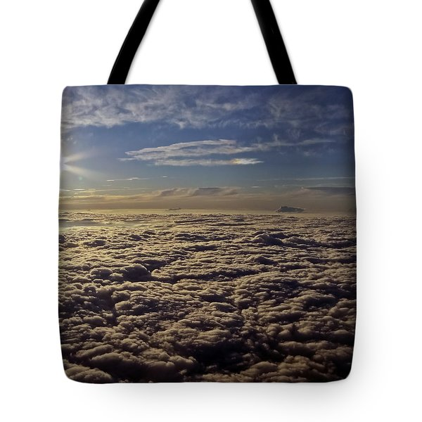 Tote Bag featuring the photograph Undercast And Sun by Greg Reed