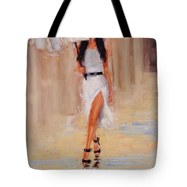 Undercover Tote Bag by Laura Lee Zanghetti