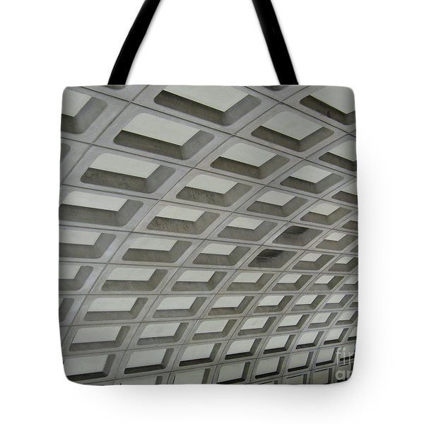 Underground. Washington Dc. Usa Tote Bag