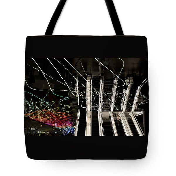 Underground O'hare Tote Bag