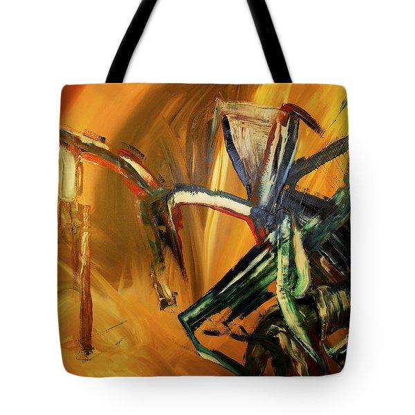 Undergrowth Disturbed Tote Bag