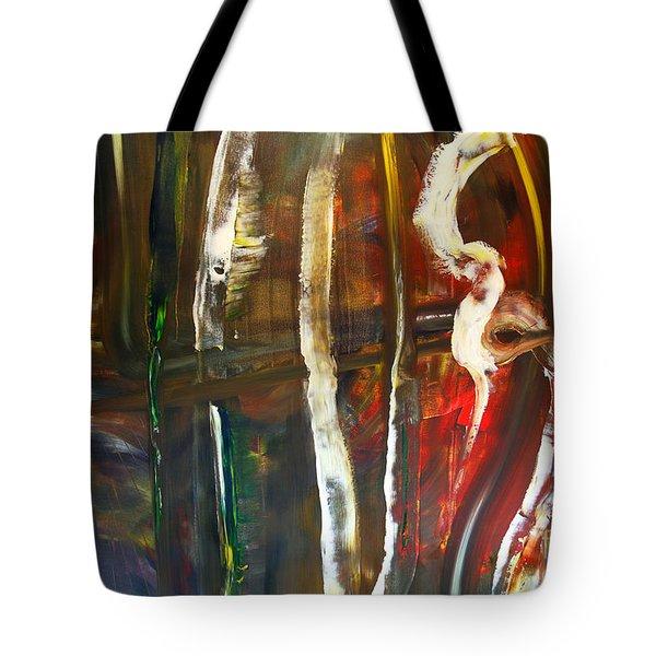 Undergrowth Iv Tote Bag