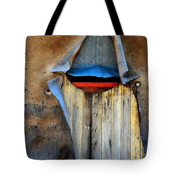 Underneath It All Tote Bag by Newel Hunter