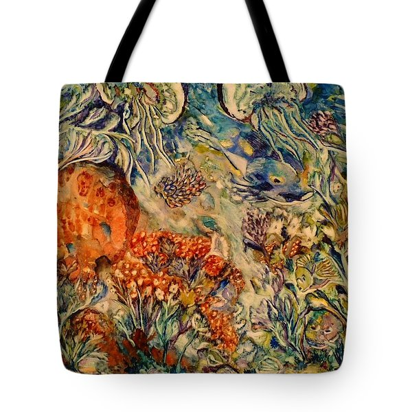 Undersea Friends Tote Bag
