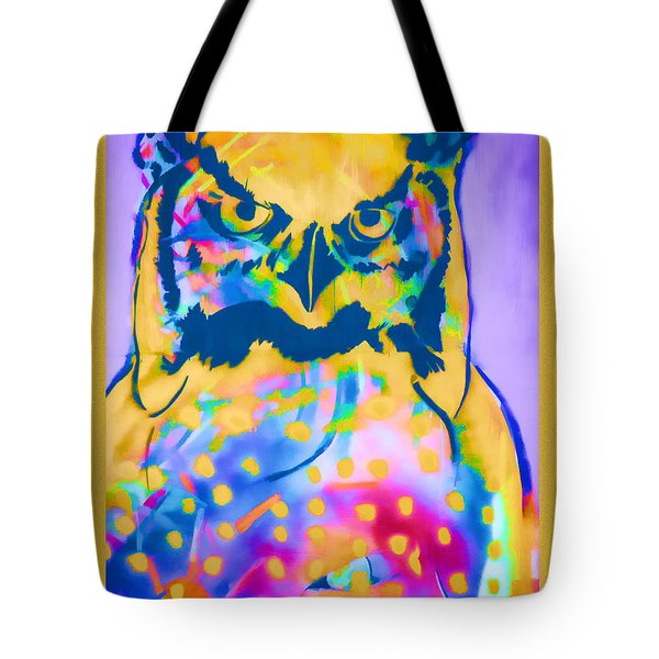 Understated Owl Tote Bag by Carol Leigh