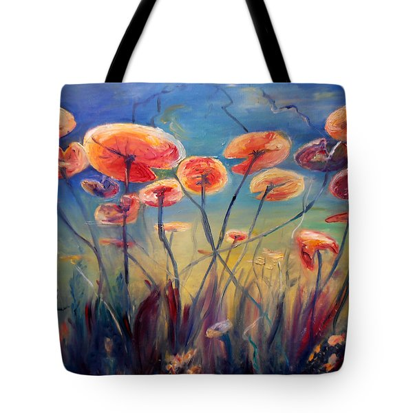 Underwater Ballet Tote Bag by Art by Kar
