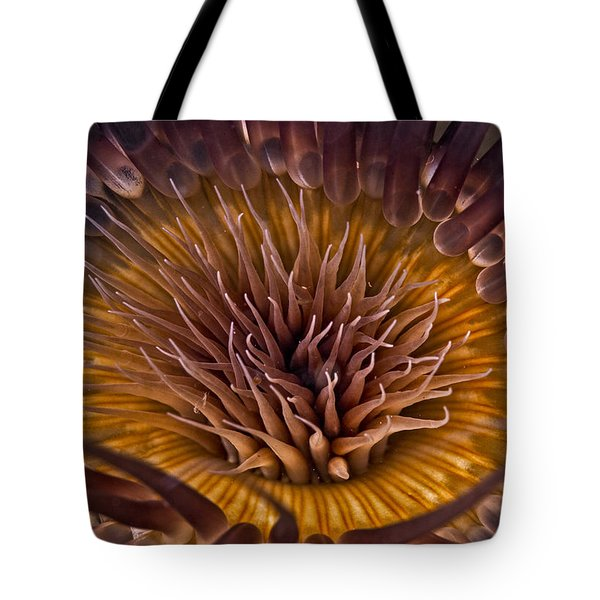 Underwater Flower Tote Bag