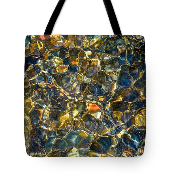 Underwater Jewels Tote Bag by Rita Mueller