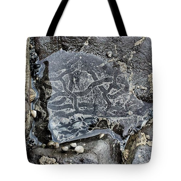 Underwater Labyrinth Tote Bag by Marco Oliveira