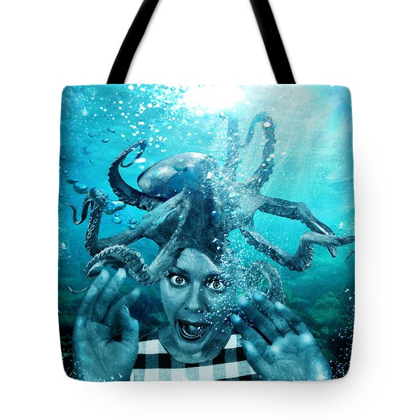 Underwater Nightmare Tote Bag