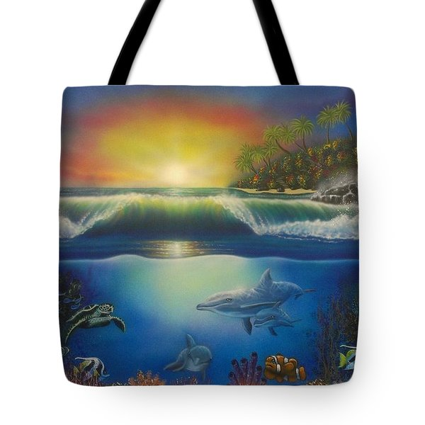 Underwater Paradise Tote Bag by Darren Robinson