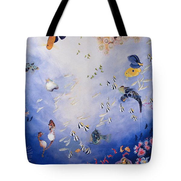 Underwater World Iv  Tote Bag