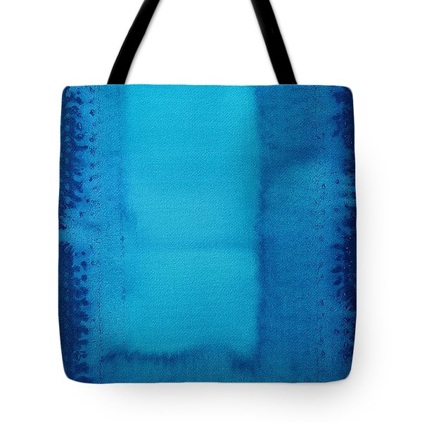 Undiscovered Country Original Painting Tote Bag by Sol Luckman