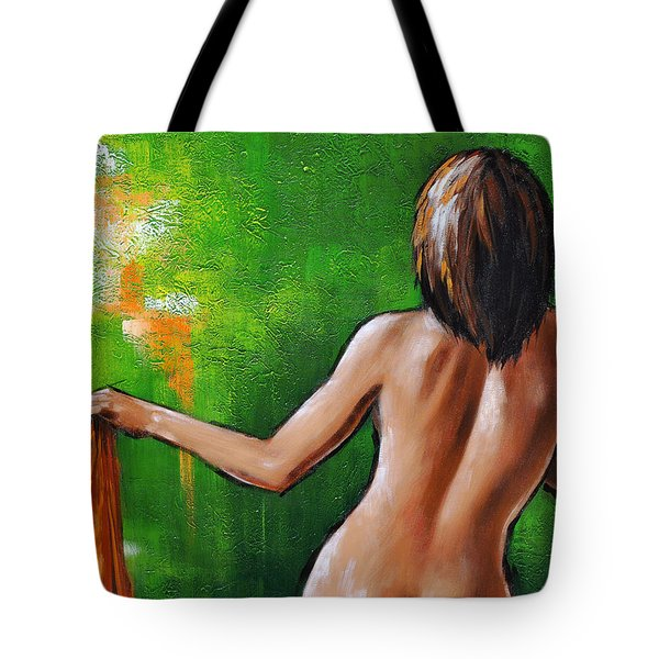 Undressed Tote Bag