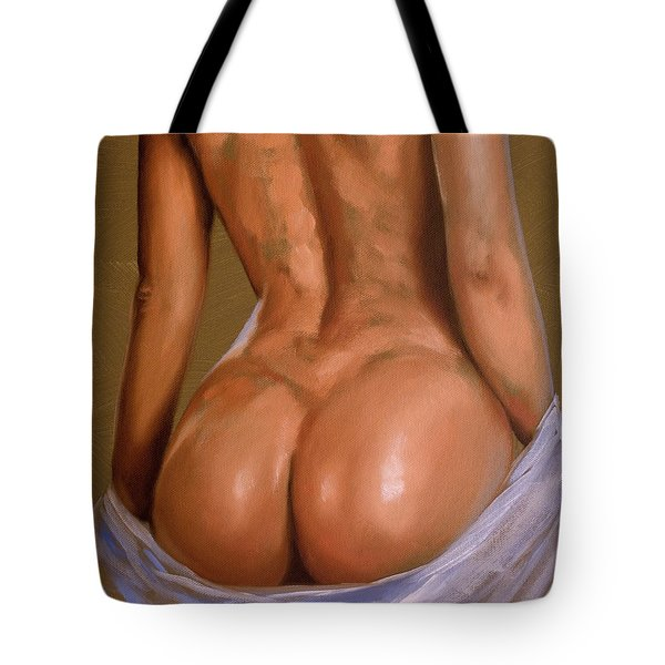 Undressing Tote Bag