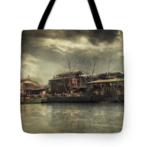 Une Belle Journee Tote Bag by Taylan Apukovska