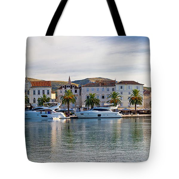 Unesco Town Of Trogit View Tote Bag by Brch Photography