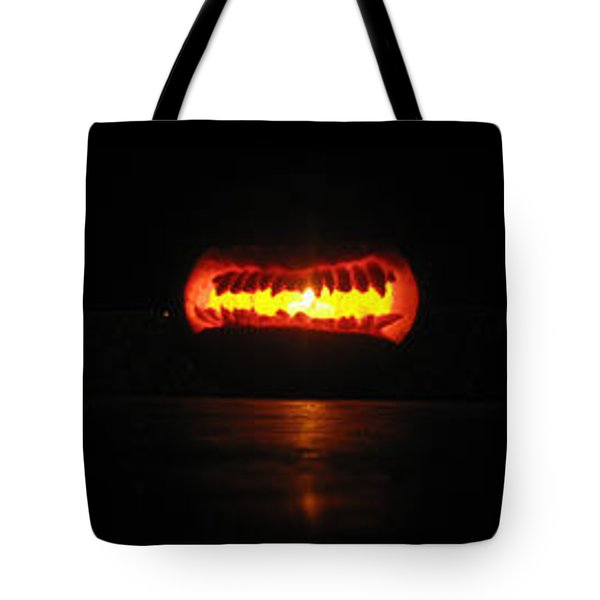Tote Bag featuring the sculpture Unethicor Devourer Of Souls by Shawn Dall