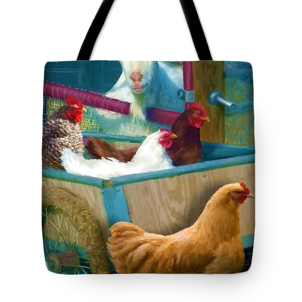 Unexpected Company Tote Bag