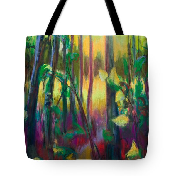 Unexpected Path - Through The Woods Tote Bag