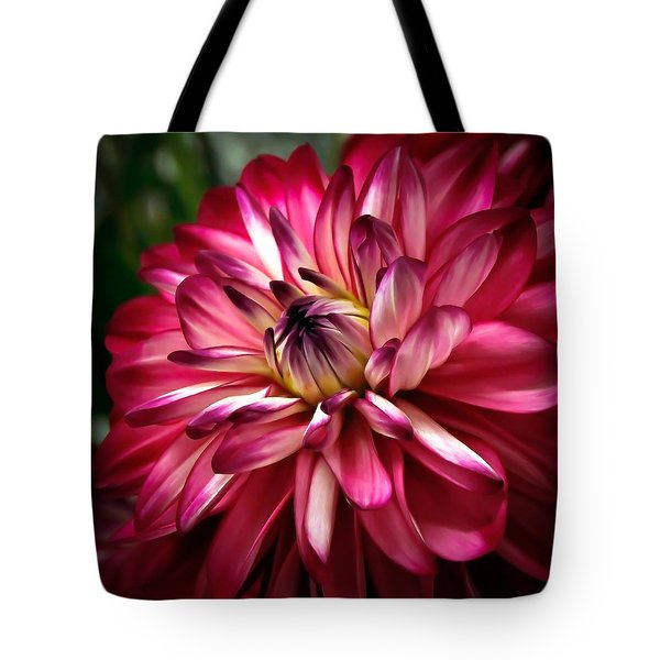 Dahlia Unfolding Tote Bag