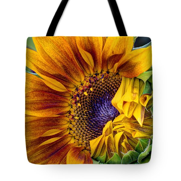 Unfurling Beauty Tote Bag