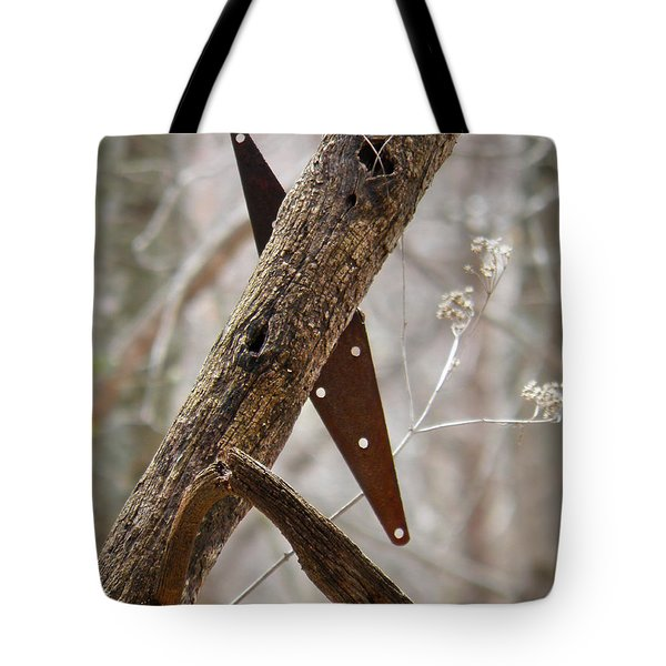 Tote Bag featuring the photograph Unhinged by Nick Kirby