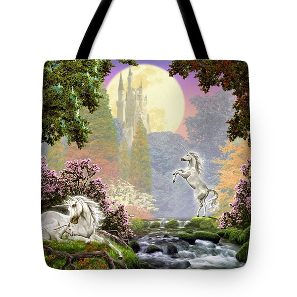Unicorn New Born Tote Bag by Garry Walton