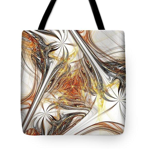 Unicorn Path Tote Bag by Anastasiya Malakhova