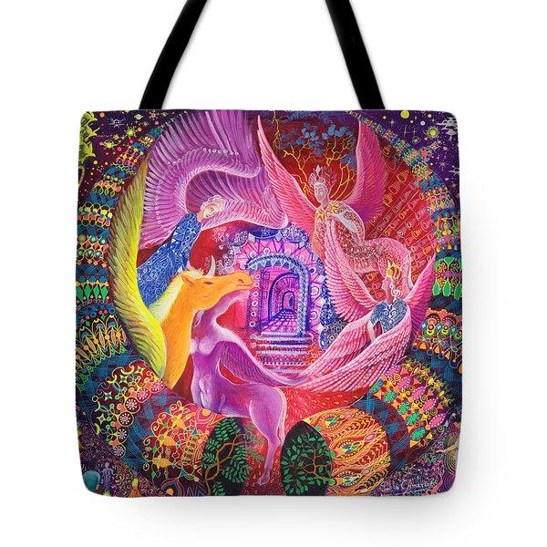 Unicornio Dorado Tote Bag
